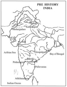The history of human settlements in india ?